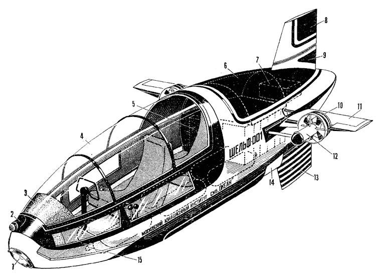 Чертежи подводной лодки своими руками