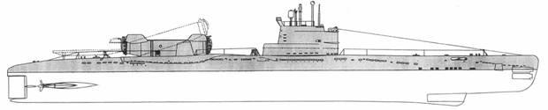 описание подводной лодки проекта 613