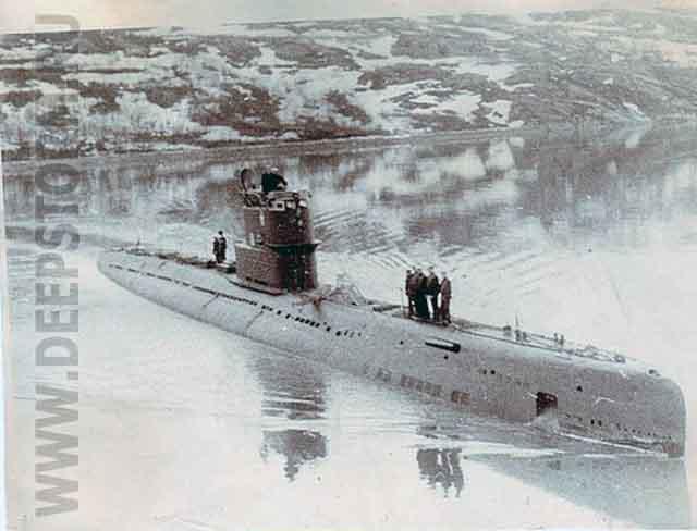 подводная лодка с-378
