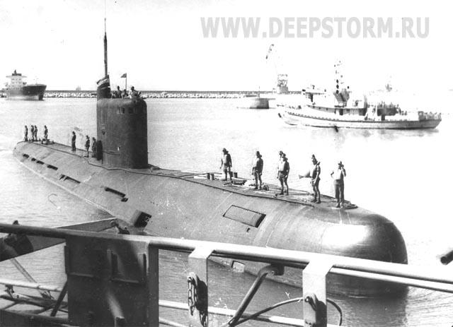 высота подводной лодки б-307