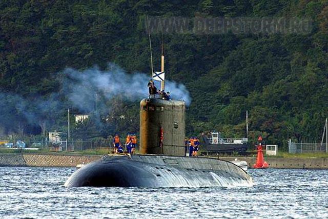 большая дизель-электрическая подводная лодка могоча