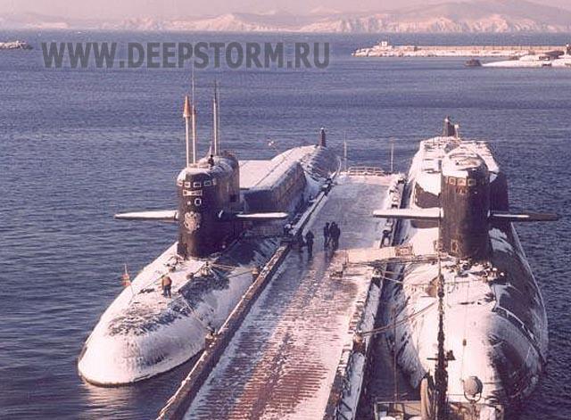 база подводных лодок в фокино