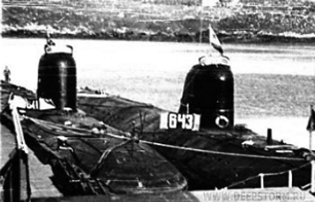 проект подводных лодок 643