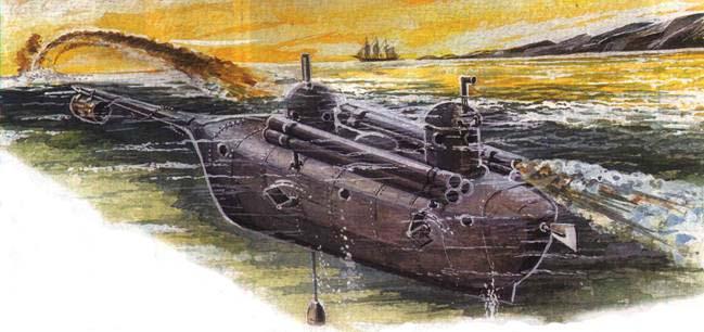 подводные лодки исторический