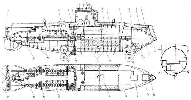 чертежи лодки голавль